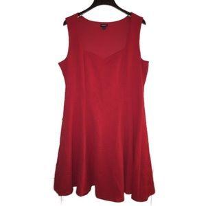Torrid red sweetheart 2 rockabilly dress